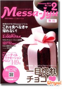 フリーペーパー「Messa-jyu(めさーじゅ)」2011年2月号